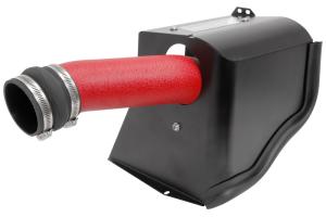 AEM Cold Air Intake Wrinkle Red (Part Number: )