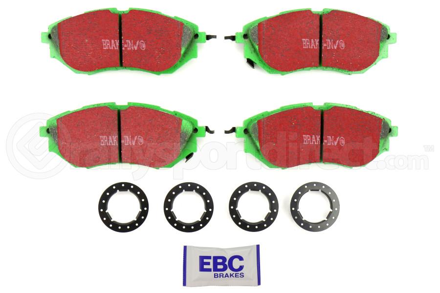 EBC Brakes Greenstuff Front Brake Pads (Part Number:DP21583)