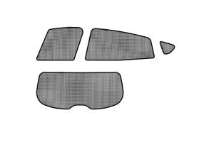 3D MAXpider Soltec Sunshade Side & Rear Window - Subaru Models (inc. 2018-2021 Crosstrek / 2017-2021 Impreza Hatchback)