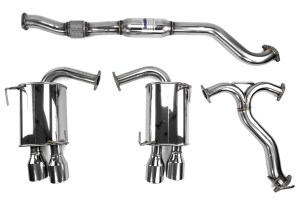 Invidia Q300 Cat Back Exhaust Stainless Tips ( Part Number:INV HS15STIG3S)