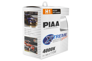 PIAA H1 110W 4000K Xtreme White Bulb Twin Pack (Part Number: )