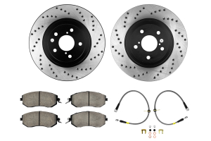 Stoptech Sport Kit Drilled Front ( Part Number:STP 979.44016F)