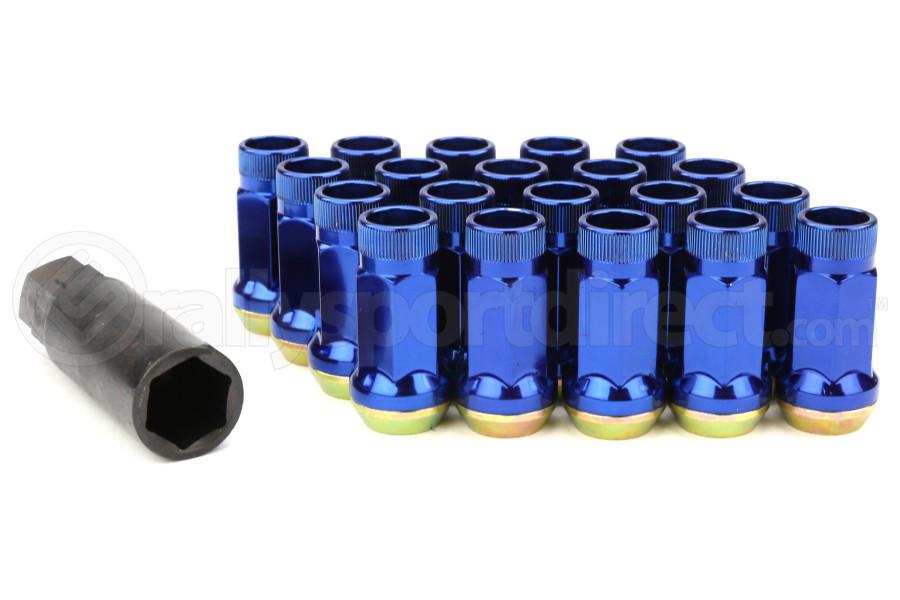 Muteki SR45R Blue Open Ended Lug Nuts 12X1.25 - Universal