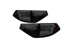 Spyder Sequential LED Tail Lights - Subaru WRX 2008-2014