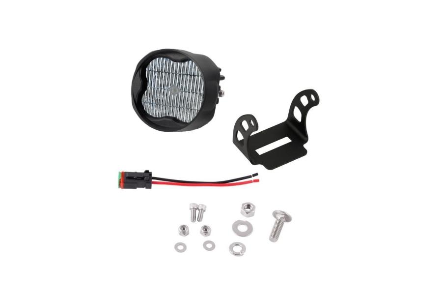 Diode Dynamics SS3 Pod Max Angled Driver Side Fog Light White - Universal