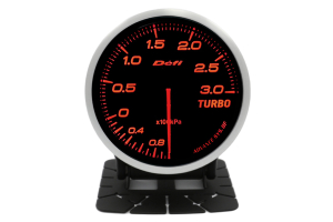Defi Advance BF Series Boost Gauge Red 3 Bar ( Part Number: DF14702)