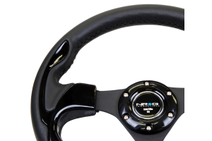 NRG Reinforced Steering Wheel 320mm Pilota Black - Universal