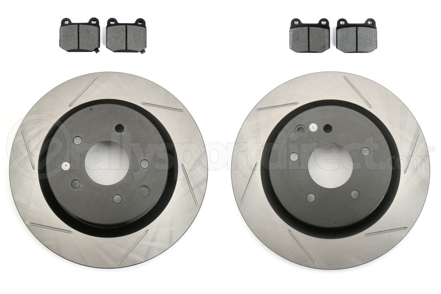 Stoptech Street Pack-Slotted Rear Rotor Kit (Part Number:937.42508)