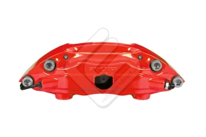 Stoptech ST-40 Big Brake Kit Front 332mm Red Slotted Rotors ( Part Number:STP 83.838.4600.71)