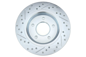 Stoptech C-Tek Sport Drilled and Slotted Rotor Single Rear Left - Mazdaspeed3 2007-2013