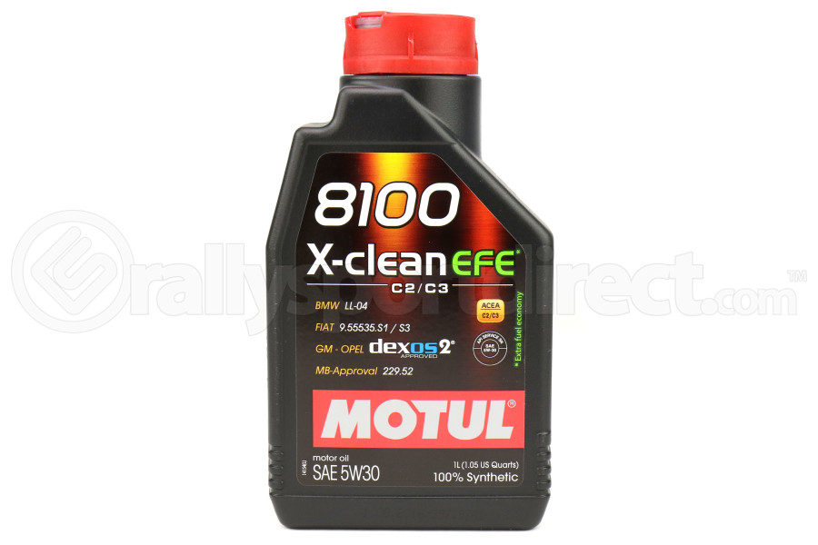 Motul 8100 X-Clean EFE 5W30 1L (Part Number:107210)