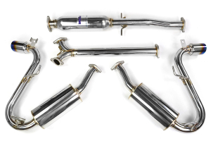 Invidia N1 Cat Back Exhaust Titanium Tip - Mini Cooper S 2005-2006