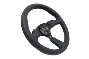 NRG Reinforced Steering Wheel 350mm Comfort Black - Universal