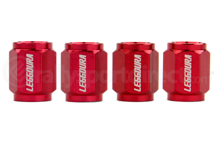 KICS Leggdura Racing Red Valve Cap ( Part Number:KIC WCKIVR)