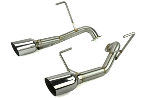 Nameless Performance Axleback Exhaust 4in Single Wall Tips ( Part Number:NAM RSPD046)