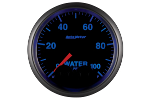 Autometer Elite Water Pressure Gauge 7 Color 52mm - Universal