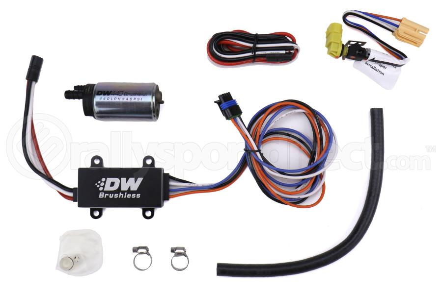 DeatschWerks DW440 440lph Brushless Fuel Pump w/ Single Speed Controller - Universal