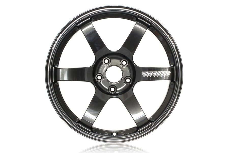 Volk TE37 SAGA 18x9.5 +38 5x114.3 Diamond Black - Universal