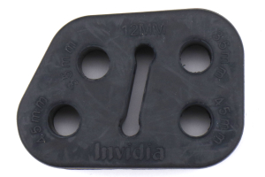 Invidia 12MM Universal Exhaust Rubber Hanger - Universal
