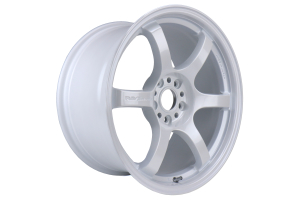 Gram Lights 57DR 18x9.5 +38 5x114.3 Ceramic Pearl - Universal