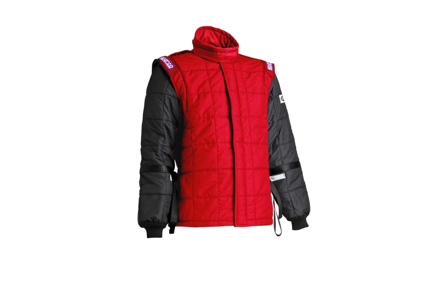 Sparco AIR-15 Drag Racing Jacket Red - Universal