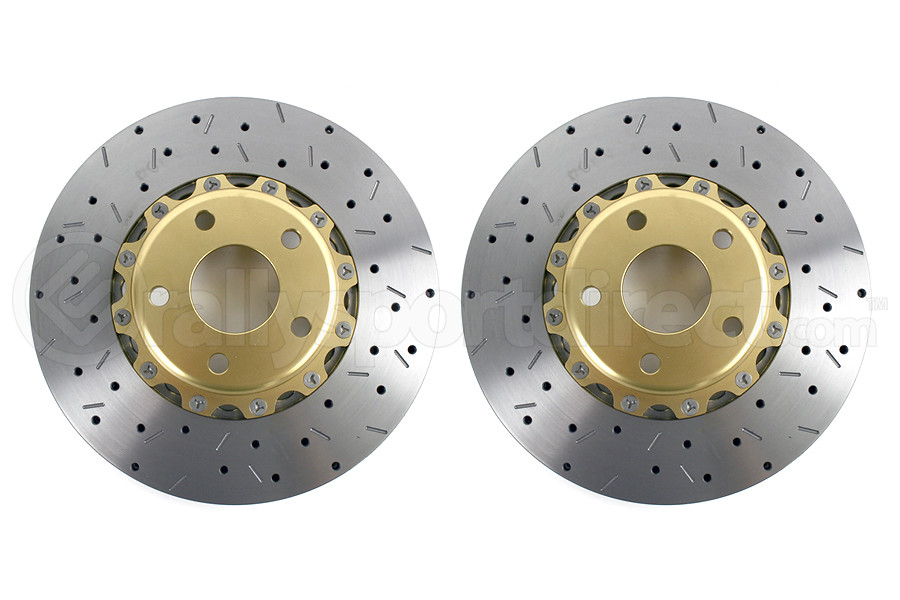 DBA 5000 Series Drilled/Slotted Rotor Pair Front (Part Number:5010GLDXSG)