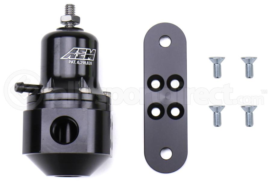 AEM Electronics Adjustable High Capacity Fuel Pressure Regulator - Universal