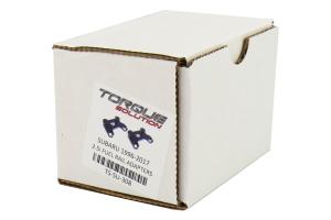 Torque Solution 2.5i Fuel Rail Adapters - Subaru WRX 2002-2014 / STi 2004+