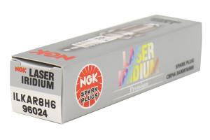 NGK Iridium Spark Plug Stock Heat Range ( Part Number:NGK ILKAR8H6)