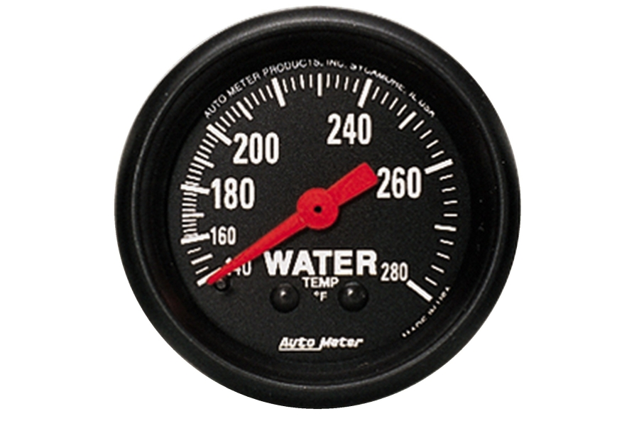 Autometer Z-Series Water Temperature Gauge Mechanical 52mm - Universal