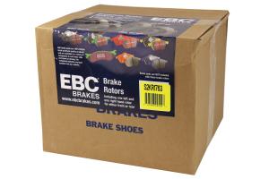EBC Brakes S2 Rear Brake Kit Greentuff Pads and USR Rotors - Mazdaspeed 3 2007-2013