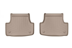 Weathertech Floorliner Tan Rear - Volkswagen Golf/GTI (Mk7) 2015+ / Audi A3/S3 2015+