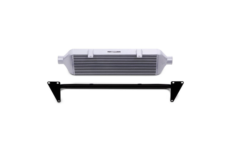 Mishimoto Front Mount Intercooler and Crash Beam Silver  - Subaru STI 2015+