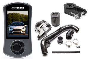 COBB Tuning Stage 1+ Power Package Carbon Fiber - Ford Focus RS 2016+