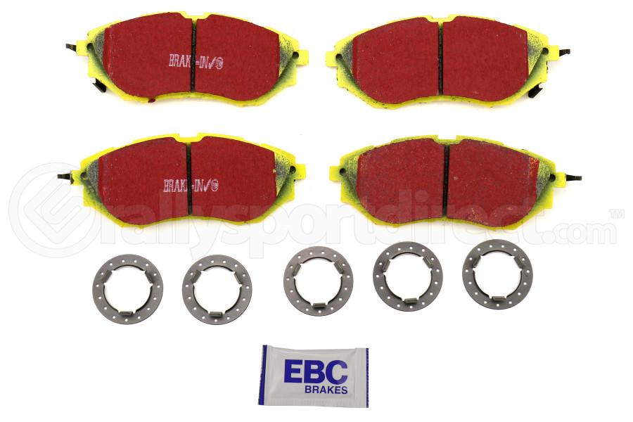 EBC Brakes Yellowstuff Street And Track Front Brake Pads - Subaru WRX 2015+ / Legacy 2005+ / Outback 2010+