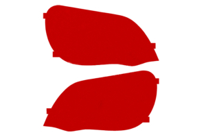 Lamin-X Taillight Covers (Multiple Colors) - Subaru WRX/STI Sedan 2004-2005