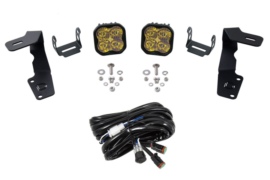 Diode Dynamics Ditch Light Kit SS3 Pro Yellow - Subaru WRX / STI 2015 - 2020
