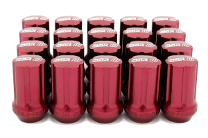 SSR GT Forged Aluminum Lug Nut Set Red M12x1.25 ( Part Number:SSR 1SB2CC214R0)