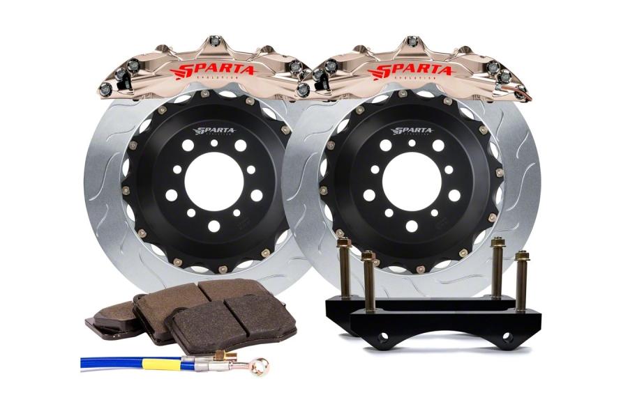 Sparta Evolution Triton Rear Big Brake Kit - Subaru STI 2004 - 2007