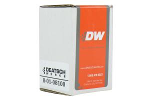 DeatschWerks 8AN Fuel Pump Pre-Filer (Part Number: )