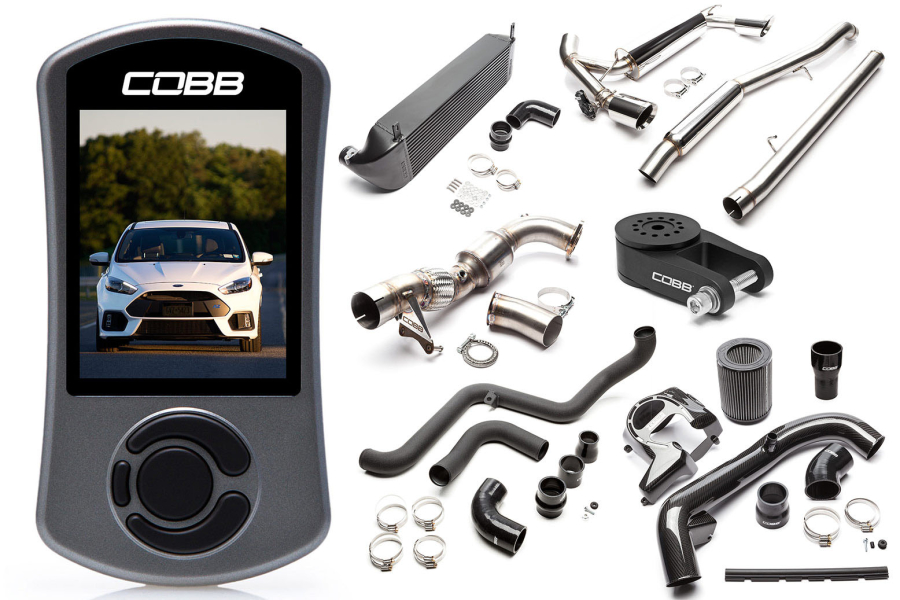 COBB Tuning Stage 2 + Power Package Black - Ford Focus RS 2016+