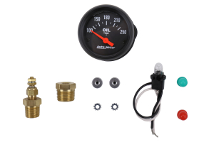 Autometer Z-Series Oil Temperature Gauge Electrical 52mm - Universal