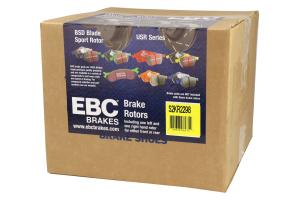 EBC Brakes S2 Rear Brake Kit Greenstuff Pads and USR Rotors - Ford Focus ST 2013+