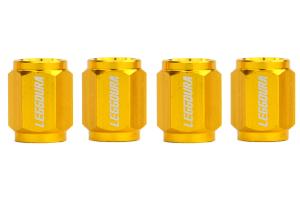 KICS Leggdura Racing Gold Valve Cap (Part Number: )