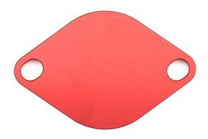Aluminati EGR Delete Kit Red (Part Number: )