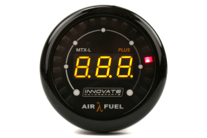 Innovate Motorsports MTX-L PLUS: Digital Air/Fuel Ratio Gauge Kit ( Part Number: 3918)