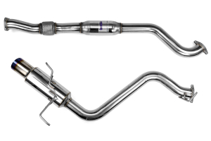 Invidia N1 Cat Back Exhaust Single Titanium Tip ( Part Number:INV HS15SW4GTT)