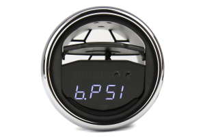 P3 Gauges Vent Integrated Boost Gauge w/ Vent Housing (Part Number: )