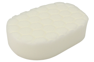 Chemical Guys Hex-Logic Hand Applicator Pad White (Part Number: )