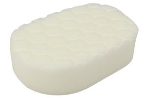 Chemical Guys Hex-Logic Hand Applicator Pad White - Universal